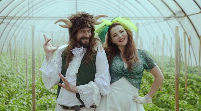 Гурти Rock-H та Maryna & Coзняли кліп у легендарних парниках Заріччя